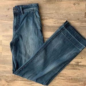 Madewell Emmett Wide-Leg Jeans High Rise
